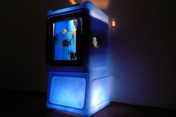 This month cool your wine, light up your house, relax in your chair and watch the kids play with the new aquarium.