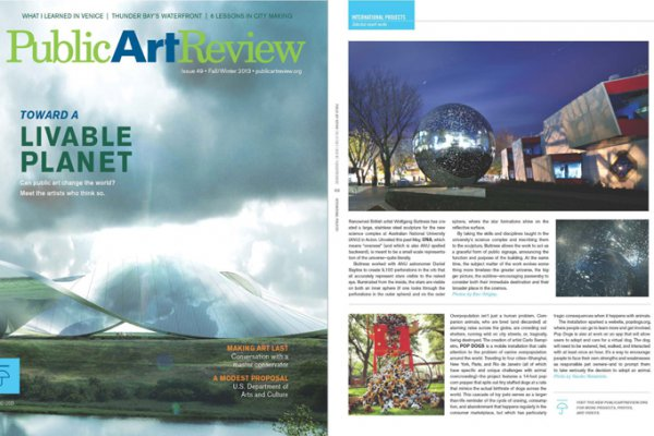 PUBLIC ART REVIEW N.49